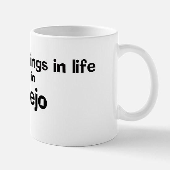 Vallejo: Best Things Mug