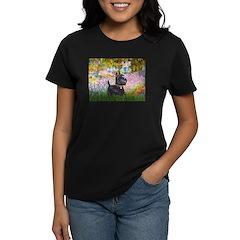 Garden (Monet) - Scotty Women's Dark T-Shirt