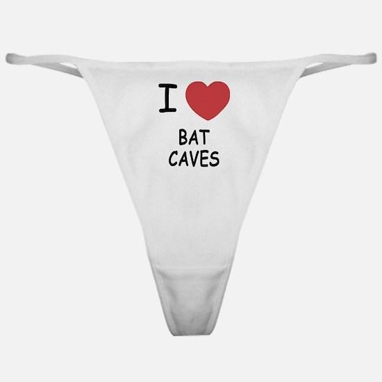 I heart bat caves Classic Thong