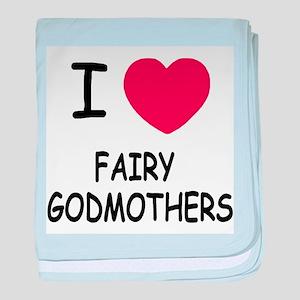 I heart fairy godmothers baby blanket