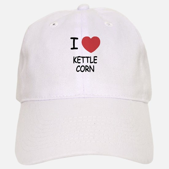 I heart kettle corn Baseball Baseball Cap