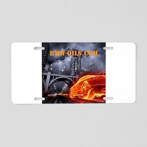 bmw-oils.com Aluminum License Plate