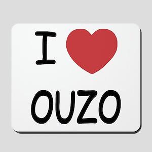 I heart ouzo Mousepad