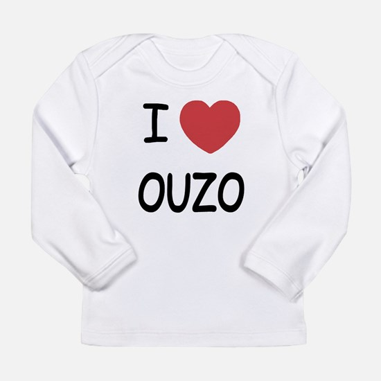 I heart ouzo Long Sleeve Infant T-Shirt