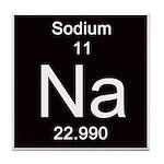 Periodic Table Sodium Tile Coaster