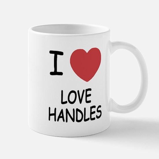 I heart love handles Mug