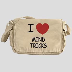 I heart mind tricks Messenger Bag