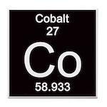Periodic Table Cobalt Tile Coaster