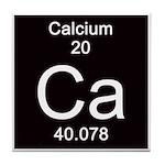 Periodic Table Calcium Tile Coaster