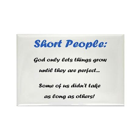 Short People Rectangle Magnet