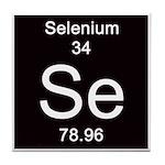 Periodic Table Selenium Tile Coaster