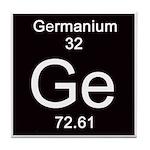 Periodic Table Germanium Tile Coaster