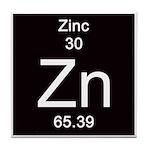 Periodic Table Zinc Tile Coaster