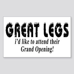 Great Legs - Rectangle Sticker