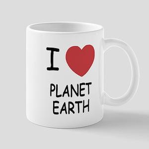 I heart planet earth Mug
