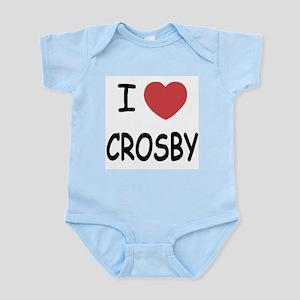 I heart Crosby Infant Bodysuit