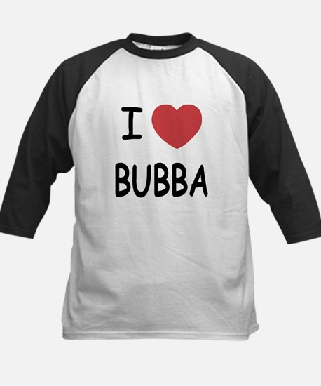 I heart Bubba Kids Baseball Jersey