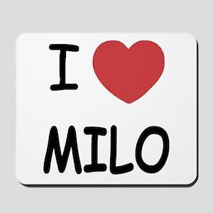 I heart Milo Mousepad