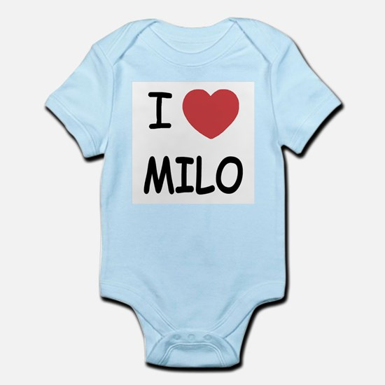 I heart Milo Infant Bodysuit