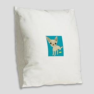 pee pee Burlap Throw Pillow