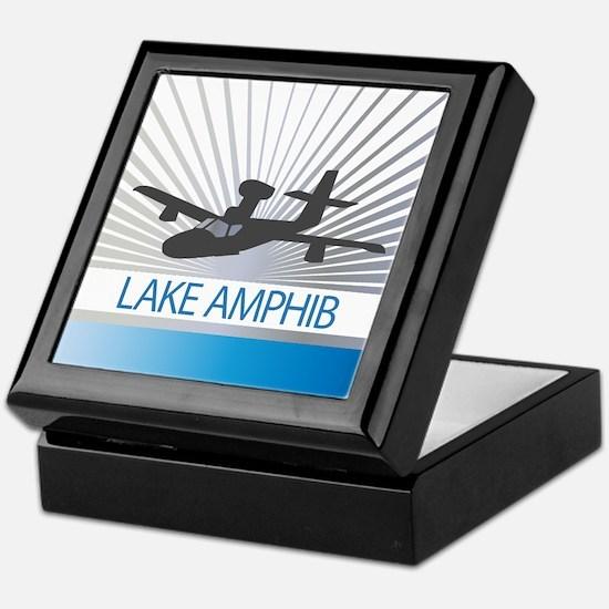 Aircraft Lake Amphibian Keepsake Box