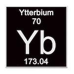 Periodic Table Ytterbium Tile Coaster
