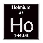 Periodic Table Holmium Tile Coaster