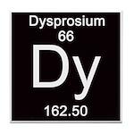 Periodic Table Dysprosium Tile Coaster