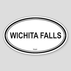 Wichita Falls (Texas) Oval Sticker