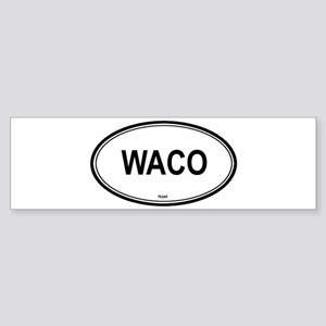 Waco (Texas) Bumper Sticker