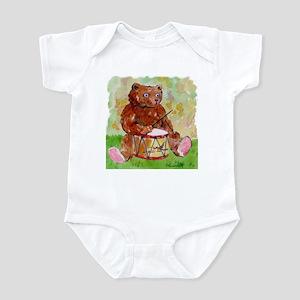 Drummer Bear Infant Creeper