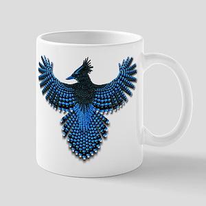 Beadwork Steller's Jay Mug