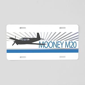 Aircraft Mooney M20 Aluminum License Plate