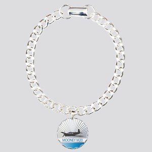 Aircraft Mooney M20 Charm Bracelet, One Charm