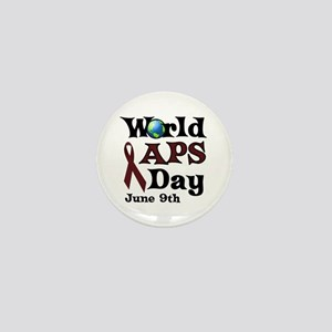 June 9th is World APS Day Mini Button