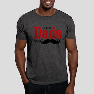Best Dads Have Mustaches Dark T-Shirt