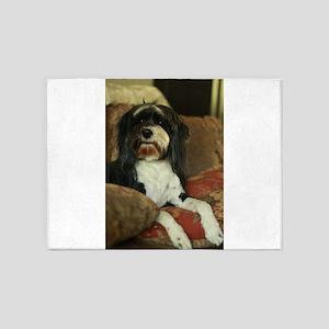 indoor dogs floppy ears 5'x7'Area Rug