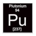 Periodic Table Plutonium Tile Coaster