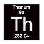 Periodic Table Thorium Tile Coaster