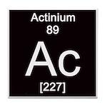 Periodic Table Actinium Tile Coaster