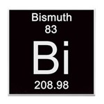 Periodic Table Bismuth Tile Coaster