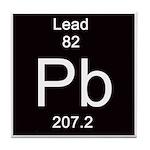 Periodic Table Lead Tile Coaster