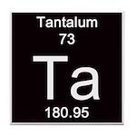 Periodic Table Tantalum Tile Coaster