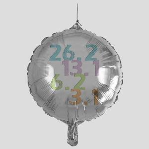 runner distances Mylar Balloon