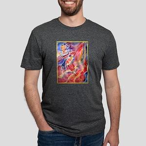 Fiesta! Colorful, Dancer! Mens Tri-blend T-Shirt