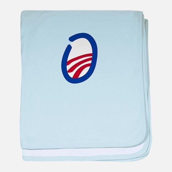 Obama O 2012 baby blanket