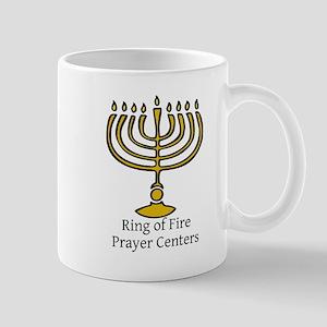 Ring of Fire Menorah Mug