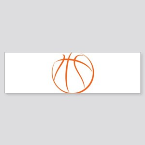Basketball Sticker (Bumper)
