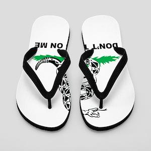 Dont Tread on Me Flip Flops