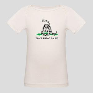 Dont Tread on Me Organic Baby T-Shirt